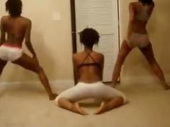 Amazing Ebony Trine Booty Shake Tease