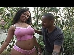 Ebony playboy Youth Jamaica has hired someone new to clean his car. He...
