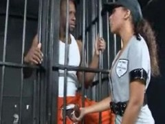 Black ramming in a prison