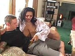 Ebony Fattie With Significant Jugs Screwed